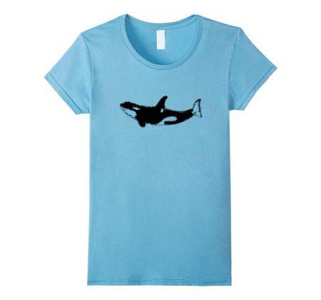 Orca Killer Whale Ballena Asesina T-Shirt